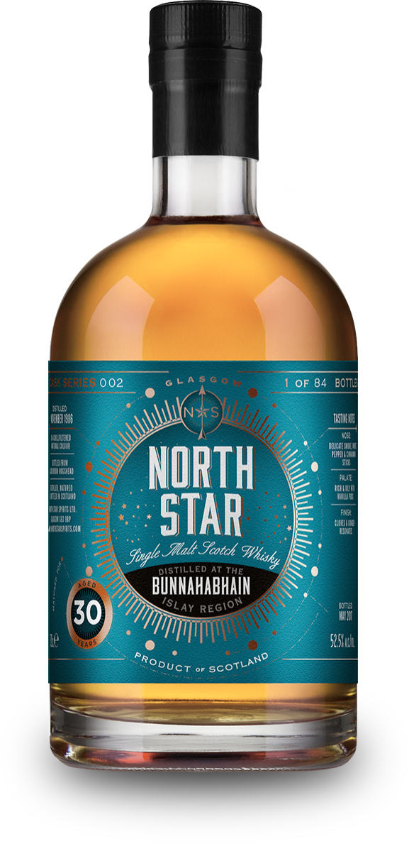 Image result for bunnahabhain 30 north star